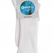 Diabetické ponožky bílé