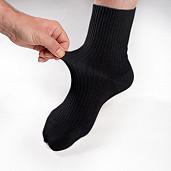 Diabetické ponožky černé
