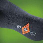 Dětské ponožky proti klíšťatům černé