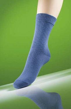 Dámské ponožky proti klíšťatům jeans