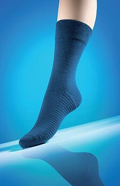 Diabetické ponožky s masáží chodidla jeans