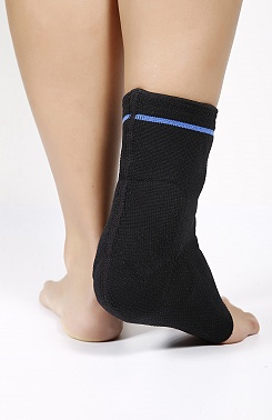 Ankle Achilles tendon brace with pad support
