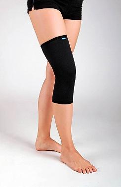 Kurze überziehbare elastische Knieorthrese– elastische Bandage