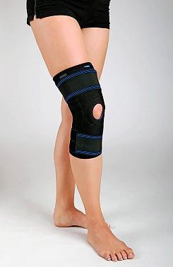 Ortéza kolenního kloubu krátká
