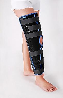 Бандаж коленного сустава статичный прямой