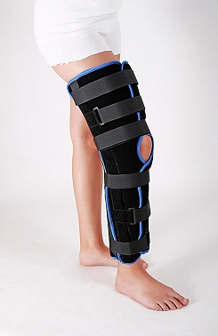 Бандаж коленного сустава полустатичный  на 20 градусов