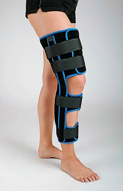 Panopflex knee fixation brace with 20° flexion