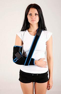 Elbow fixation brace