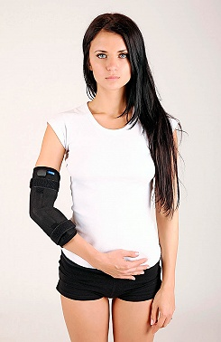Elbow brace with joints