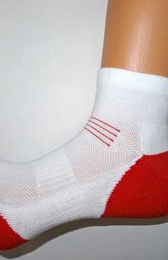 Ponožky Golf s příměsí bavlny červené